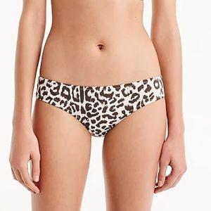 J Crew Lana Leopard Bikini Bottom NWOT